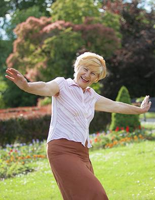 Senior Adult Happy