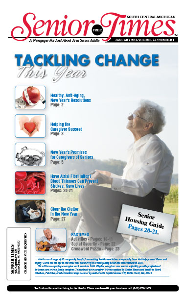 Tackling Change This Year Cover