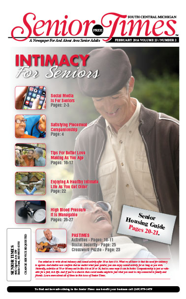 Intimacy For Seniors Cover