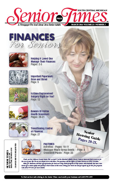 Finances For Seniors Cover