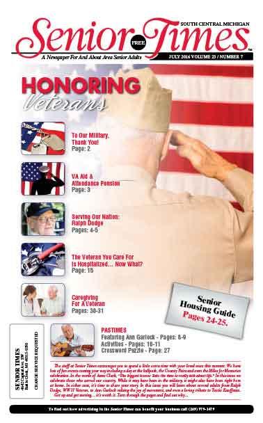 Honoring Veterans Cover