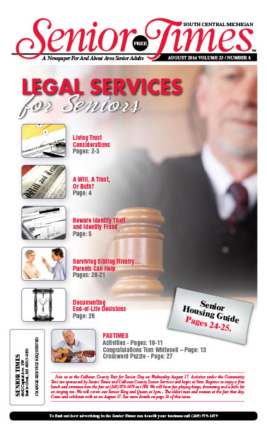 Legal Services For Seniors Cover