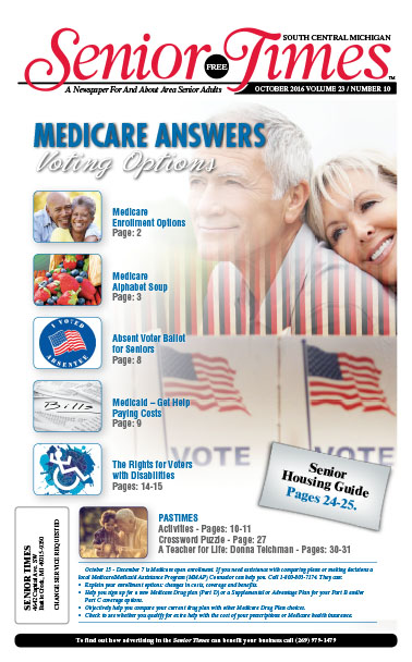 Medicare Answers, Voting Options Cover