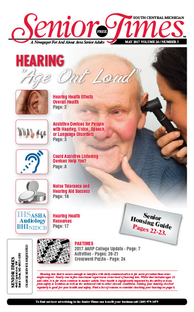 Hearing, Age Out Loud Cover