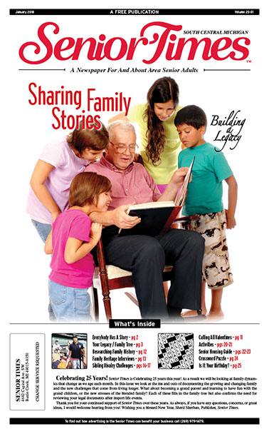 Sharing Family Stories, Building A Legacy Cover