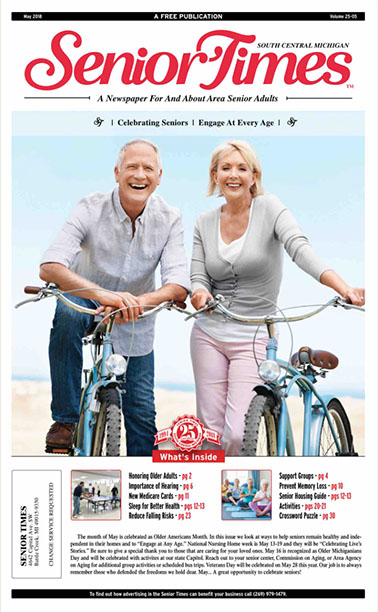 Celebrating Seniors, Engage At Every Age Cover