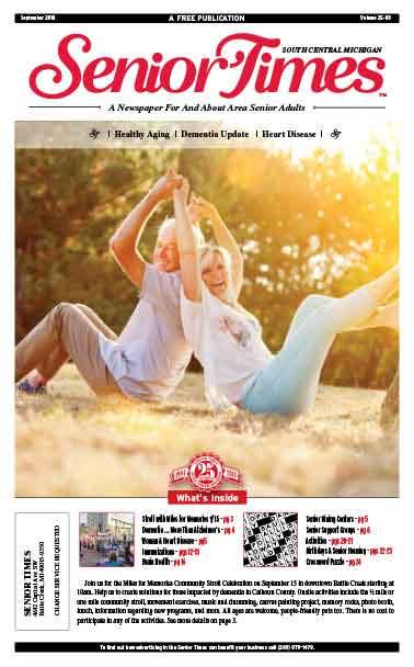 Healthy Aging, Dementia Update, Heart Disease Cover