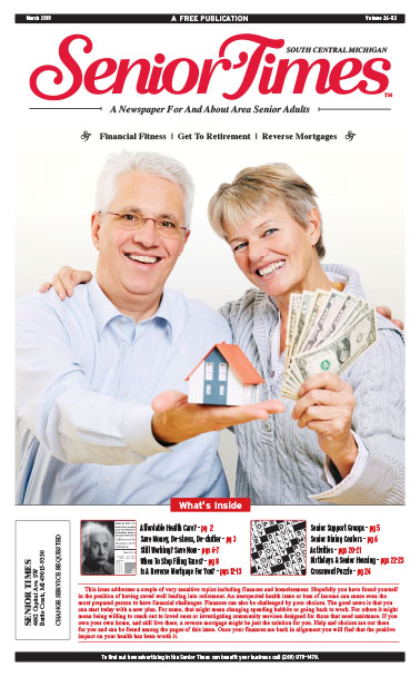 Senior Times Financial Fitness Retirement Reverse Mortgages Cover