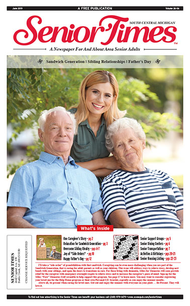 Senior Times Sandwich Generation Sibling Cover