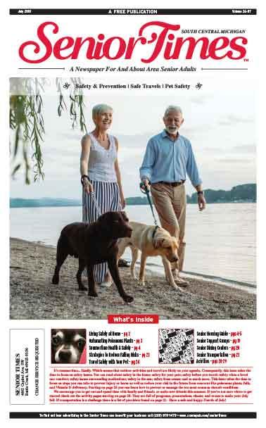 Senior Times Safety & Prevention Cover