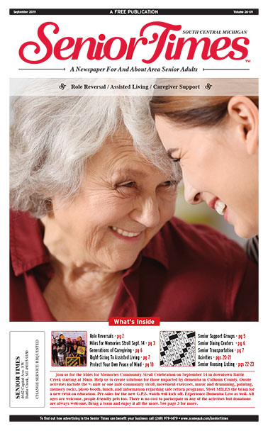 Senior Times Role Reversal Assisted Living Cover