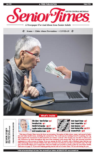 Senior Times - Scams, Elder Abuse Prevention, COVID-19