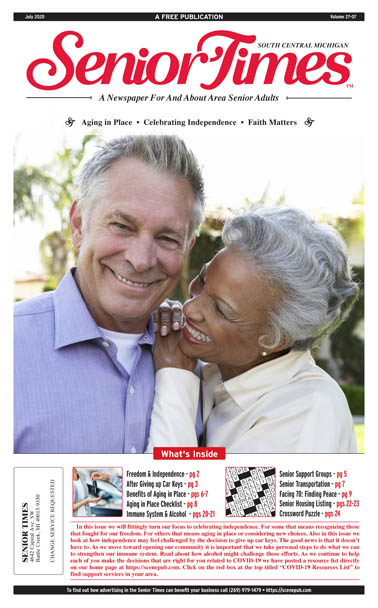 Senior Times - Aging in Place, Celebrating Independence, Faith Matters
