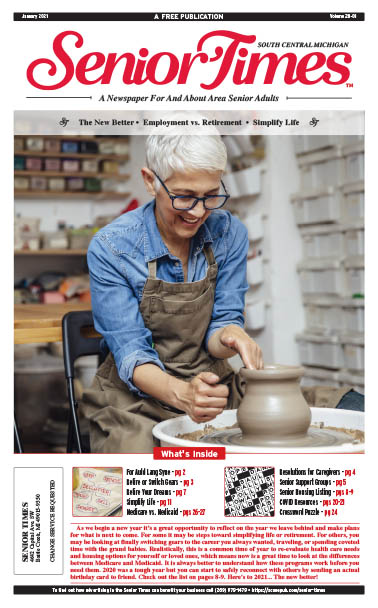 Senior Times - The New Better, Employment vs Retirement, Simplify Life Cover